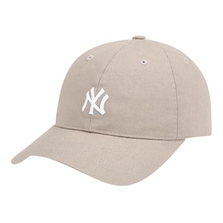 商品【韩国直邮|包邮包税】MLB NY复古小Logo棒球帽 卡其色图片