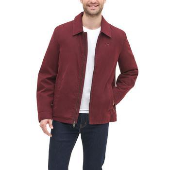 商品Men's Classic Front-Zip Filled Micro-Twill Jacket图片