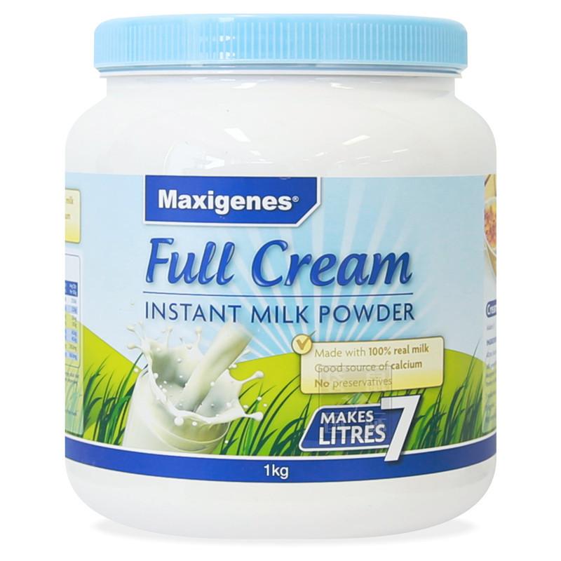 商品美可卓 大胖奶全脂 高钙奶粉(蓝胖子) 1千克图片