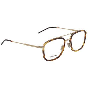 商品Dior Demo Lens Rectangular Mens Eyeglasses DIOR0229 0VR0 53图片