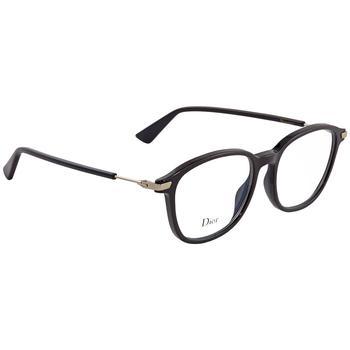 商品Dior Black Square Ladies Eyeglasses DIORESSENCE780750图片