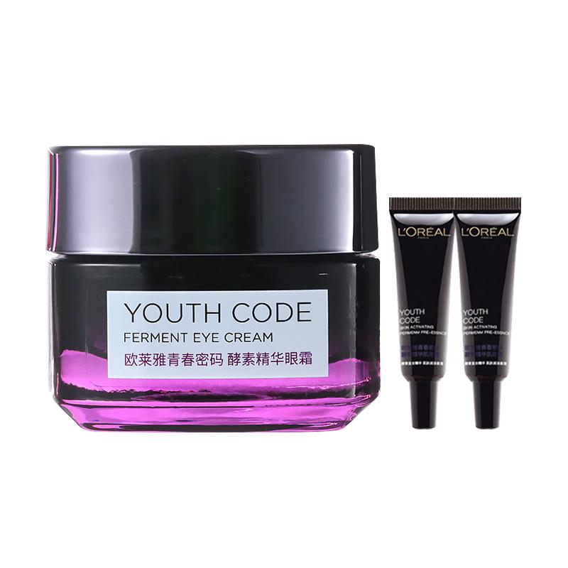 商品欧莱雅青春密码酵素精华眼霜充电眼霜图片