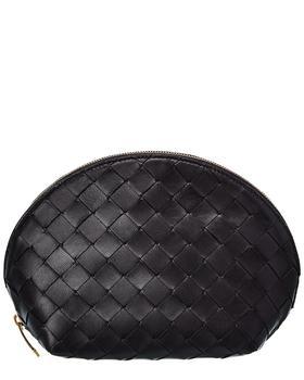 商品Bottega Veneta Intrecciato Leather Cosmetics Case图片