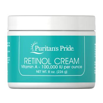 商品Retinol Cream Vitamin A 100,000 IU per oz图片
