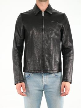 商品Black leather jacket图片