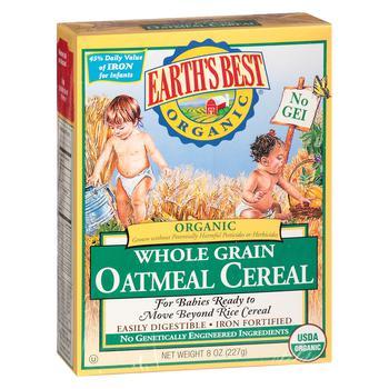商品婴儿1段辅食有机燕麦糊 227g图片