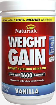 商品Weight Gainer Vanilla 20.3 oz Powder图片