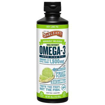 商品高效液体鱼油Omega3饮品,成人鱼油DHA 青柠味图片