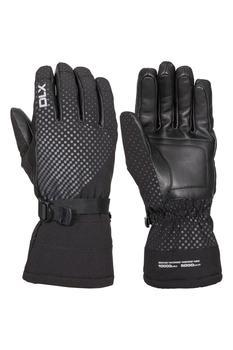 商品Trespass Unisex Adult Alazzo DLX Leather Ski Gloves (Black)图片