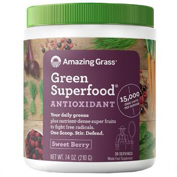商品Amazing Grass® 超级绿色食物冲剂 莓果味图片