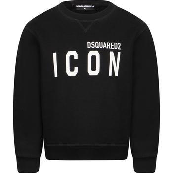 商品DSQUARED2 KIDS - Sweatshirt, Black, Girl, 10 yrs图片