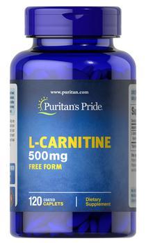 商品L-Carnitine 500 mg 120 Caplets图片