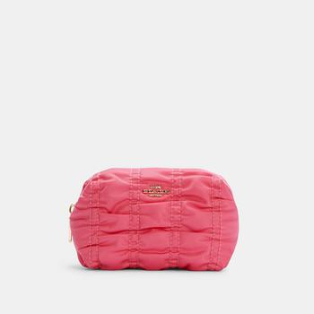 商品COACH Small Boxy Cosmetic Case With Ruching图片