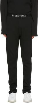 商品Black Thermal Lounge Pants图片