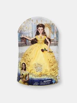 商品Disney Beauty and the Beast Enchanting Ball Gown Belle Doll图片