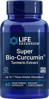 商品Life Extension Super Bio-Curcumin® Turmeric Extract - 400 mg (60 Capsules, Vegetarian)图片