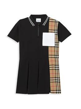 商品Little Girl's & Girl's Serena Polo 衫连衣裙 图片