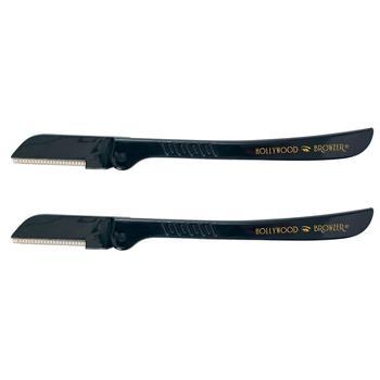 商品Hollywood Browzer Eyebrow Razor Duo Black & Black图片