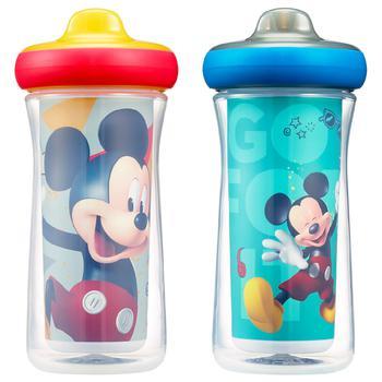 商品Disney Mickey Mouse Insulated Hard Spout Sippy Cups图片