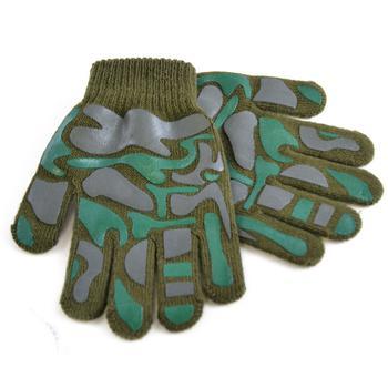 商品Childrens Little Boys Camo Design Winter Magic Gloves (Green) ONE SIZE ONLY图片