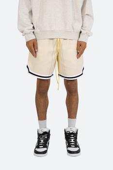 商品Poly Cotton Walking Shorts - Tan图片