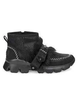 商品Fluff Punk UGGPure & Lamb Fur Suede Ankle Boots图片