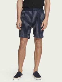 商品Scotch & Soda Sporty Pinstripe Suit Shorts图片