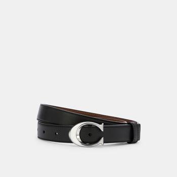 商品COACH Signature Buckle Belt, 25 Mm图片