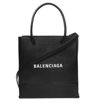 商品Balenciaga Ladies Black Shopping XXS North South Tote Bag图片