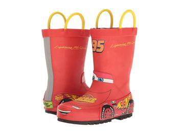 商品Lightning McQueen Rain Boots (Toddler/Little Kid/Big Kid)图片