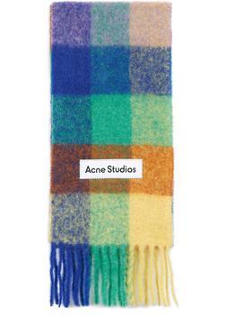 商品格纹围巾图片
