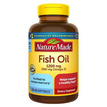 商品Fish Oil 1200 mg Softgels图片