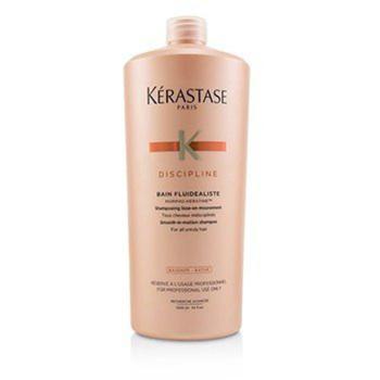 商品Kerastase - Discipline Bain Fluidealiste Smooth-In-Motion Shampoo (For All Unruly Hair) 1000ml/34oz图片