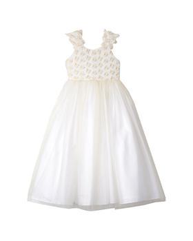 商品Belle Badgley Mischka 3D Flower & Tulle Maxi Dress图片