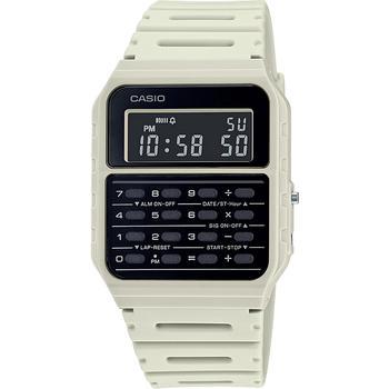 商品数字运动白色表带腕表, 34.4mm图片