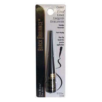 商品Black Radiance Fine Line Liquid Eyeliner, Fine Black - 3 Ea图片
