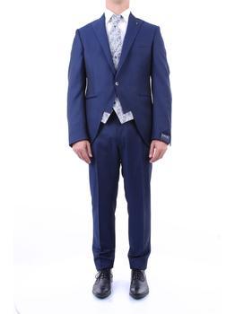 商品LUIGI BIANCHI MANTOVA SARTORIA Elegant Men Blue图片