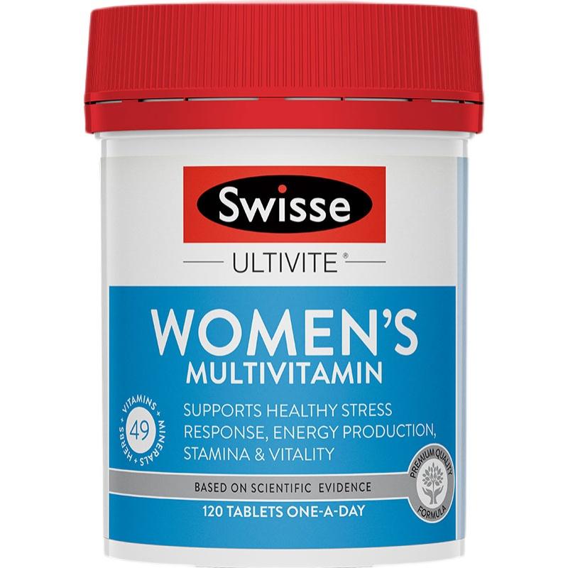 商品Swisse斯维诗女士复合维生素b族片120粒舒缓女性压力图片