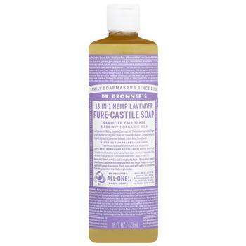 商品Magic Soaps 18-in-1 Hemp Pure-Castile Soap Lavender图片