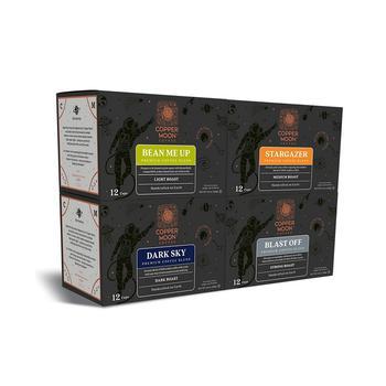 商品Single Serve Coffee Pods for Keurig K Cup Brewers, Out of This World Blends Variety Pack, 48 Count图片