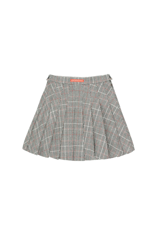 商品Tiny Cottons【国内直发】 格纹百褶半裙图片