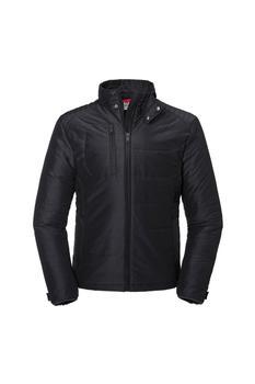 商品Russell Mens Cross Padded Jacket (Black)图片