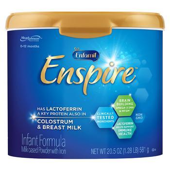商品Enfamil Enspire 蓝臻母乳寡糖蛋清配方一段奶粉 富铁配方 20.5oz图片