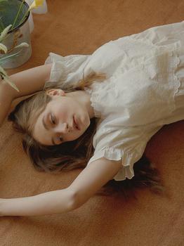 商品Eileen Short Sleeve PJ Set (w/Nipple Cover)图片
