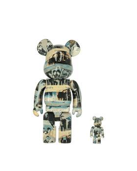 商品暴力熊 100% + 400% 披头士乐队 Be@rbrick图片