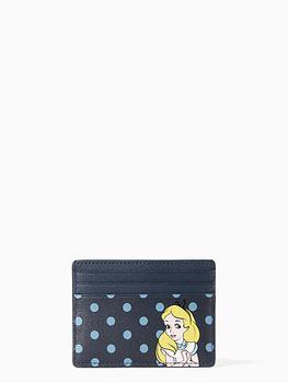 商品disney x kate spade new york alice card holder图片