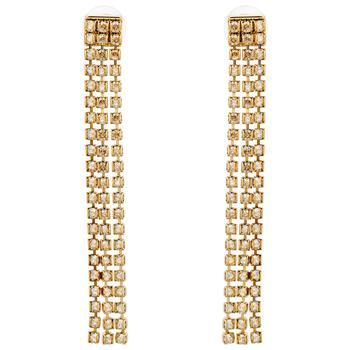 商品Swarovski Gold Plated Crystal Earrings 5364807图片