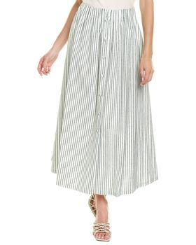 商品Rosie Assoulin Shirred Tea Skirt图片