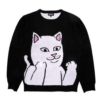 商品Lord Nermal Flippy Knitty Sweater (Black)图片