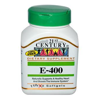 商品21St Century Vitamin E - 400 Iu Softgels - 110 Ea图片